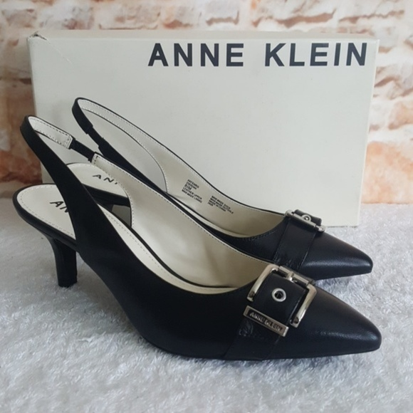 1a5f5a5ac33 New Anne Klein Fenris Leather Pumps NWT
